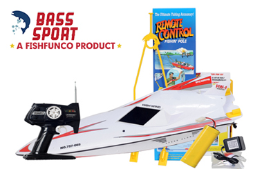 The Sporty, Bass Fishing Rc Boat