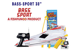 The 30 inch Bass Pro Rc Fishing Boat