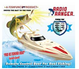 The 34 inch Radio Ranger Rc Fishing Boat to Troll Your Lures