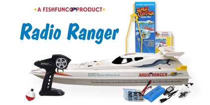 "The Giant 34"" Radio Ranger Rc Fishing Boat"