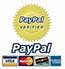 This website is verified by paypal to process payments safe
