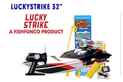 The 32 inch Luckystrike Rc Fishing Boat