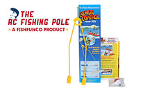 Attach The Rc Fishing Pole on Any Rc Boat