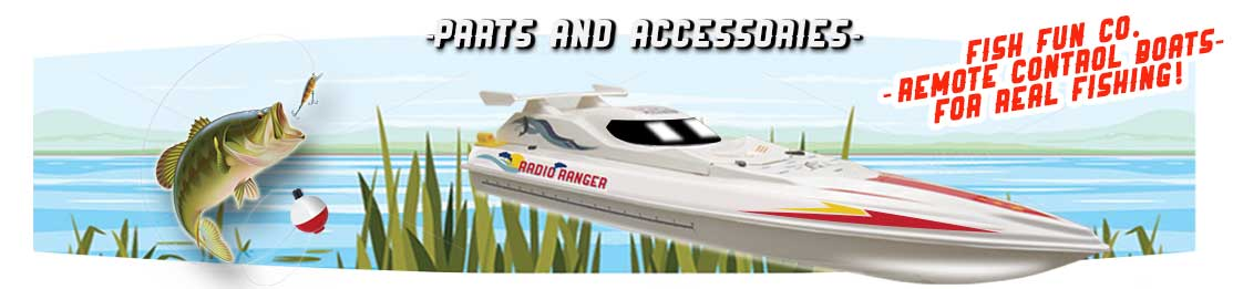 Rc Fishing Boats Parts!
