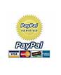 Pay with confidence, Paypal Safe!
