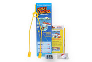 The Rc Fishing Pole attach on Any Rc Boat for fishing