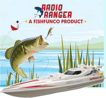 Radio Ranger Remote Control Fishing Boat Catch S Real Fish Radio